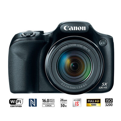 Cámara Semiprofesional Canon PowerShot SX530 HS