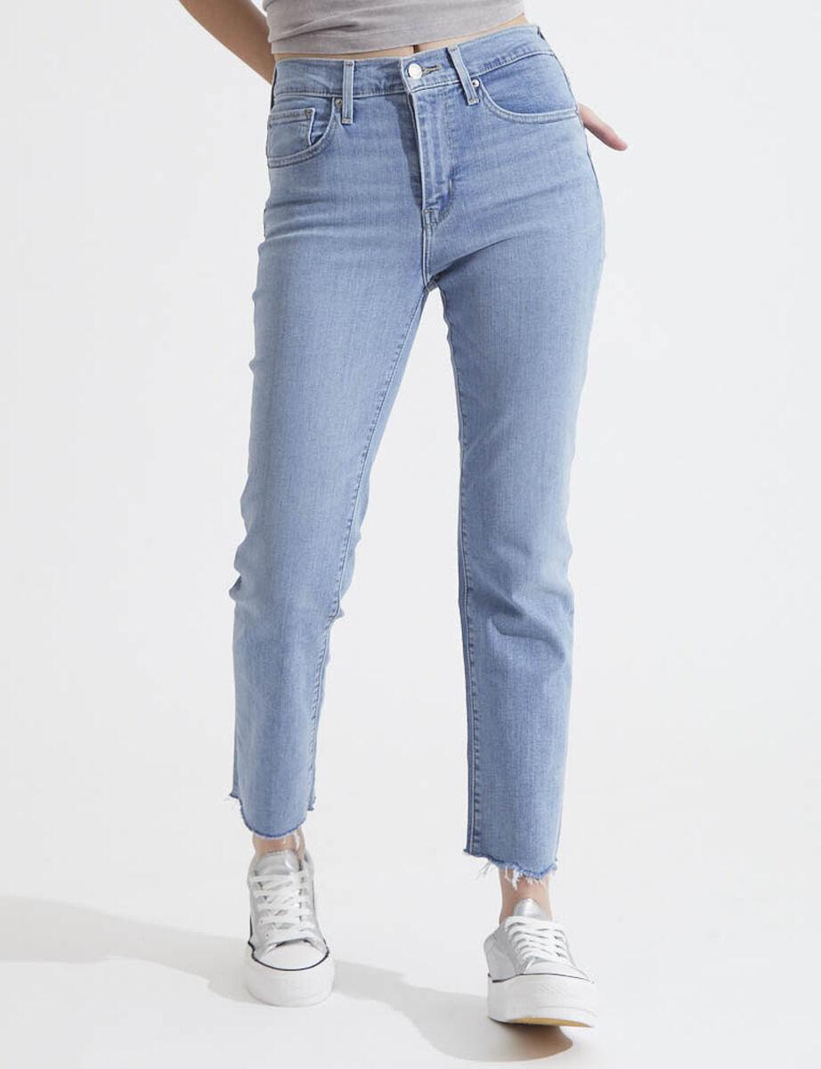 Jeans Tiro Alto Mujer Levis