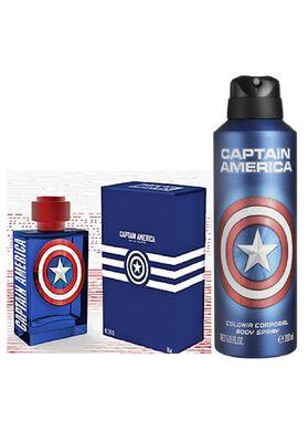 Pack Colonia Capitan America 100 ml + Body Mist 200 ml