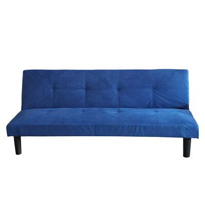 Futón Casanova Adela Azul 3 Cuerpos