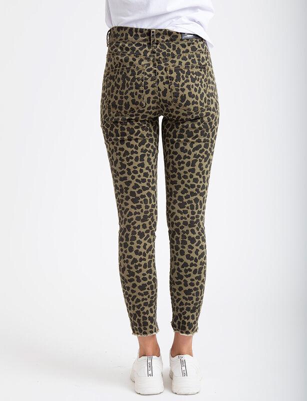 Jeans Zibel Leopardo