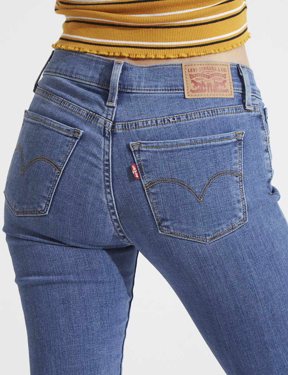 Jeans Recto Mujer Levis