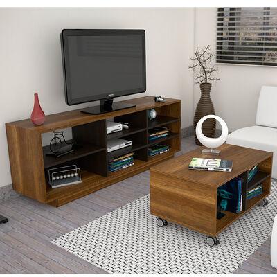 Set Rack + Mesa de Centro Classic Color