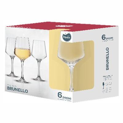 Set 6 Copas de Vino Brunello 390 ml