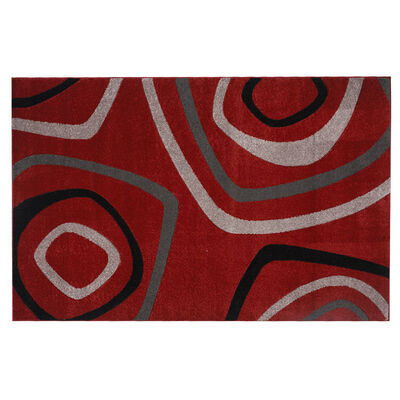 Alfombra Frize Carved D2 80X120 Cm Red