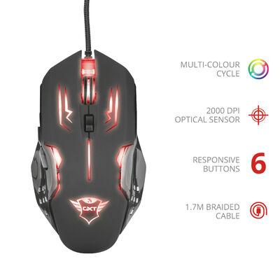 Mouse Gamer GXT108 Rava Trust
