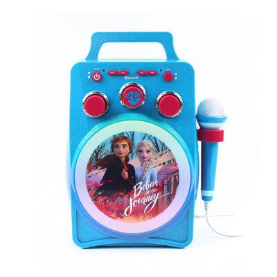 Parlante Karaoke Portátil Frozen Disney