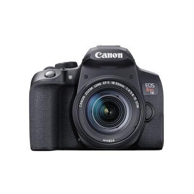 Camara Canon EOS Rebel T8i Negro