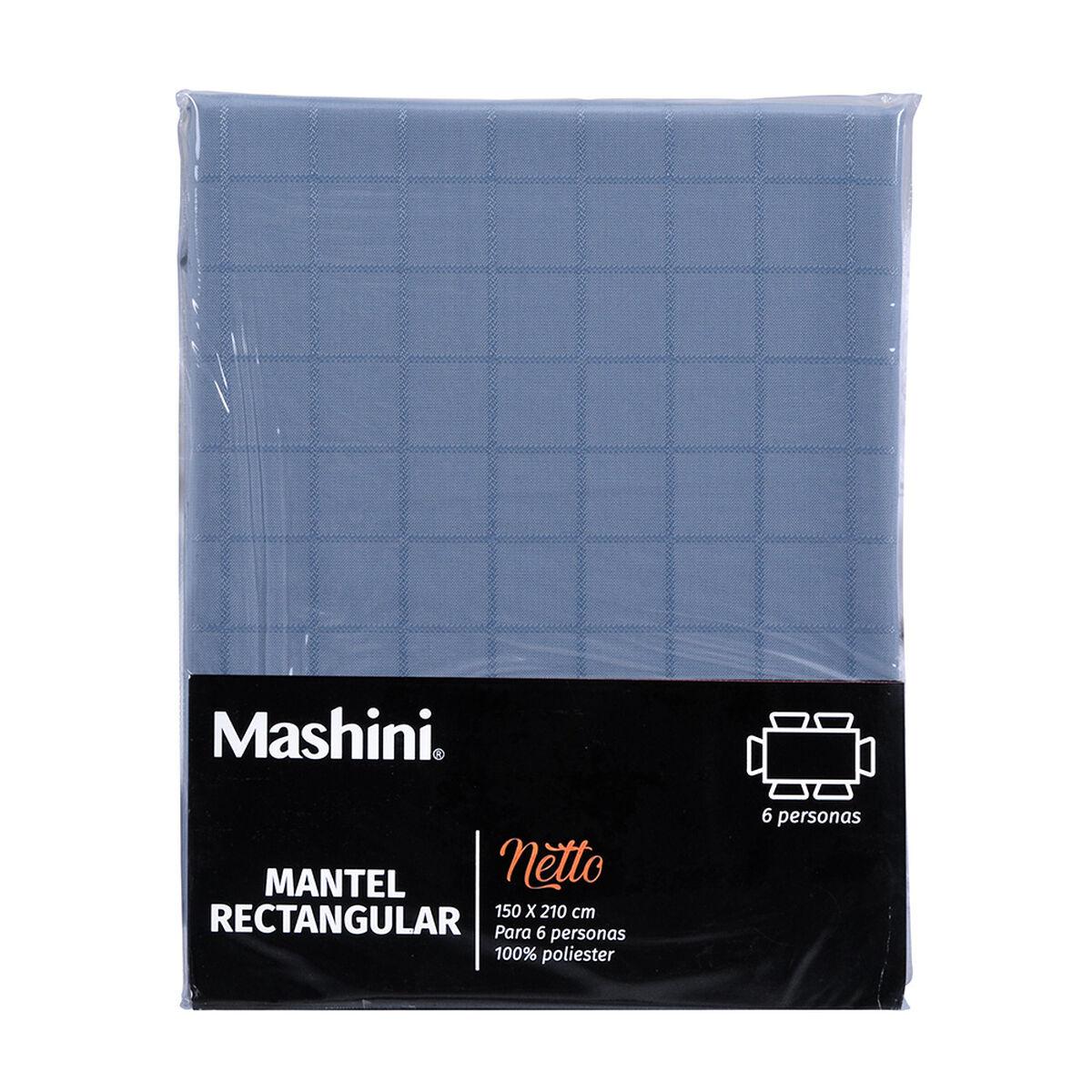 Mantel Mashini Netto Azul 150 x 210 cm