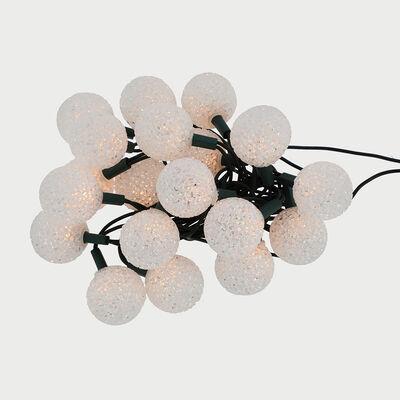 Set 20 Luces Esfera Blanco