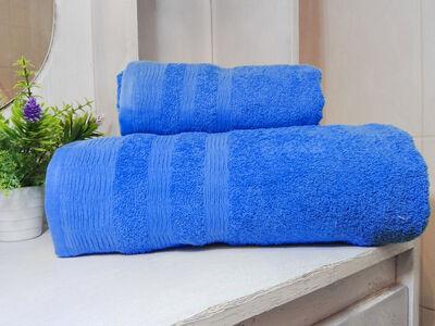 Set Toallas 500G 2 Piezas  Azul