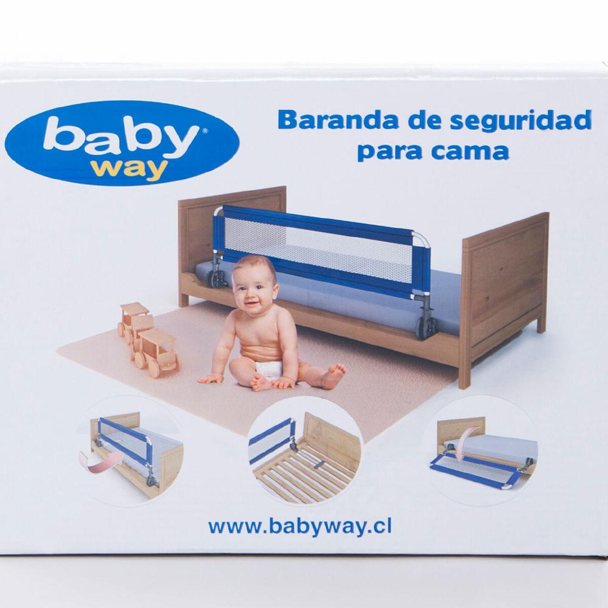 Baranda de Seguridad Baby Way Para Cama Rosado