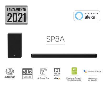 Soundbar LG SP8A