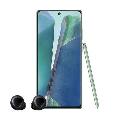 "Combo Celular Samsung Galaxy Note20 256GB 6.7"" Mystic Green Liberado + Audifonos Inalámbricos Samsung Galaxy Buds Negros"