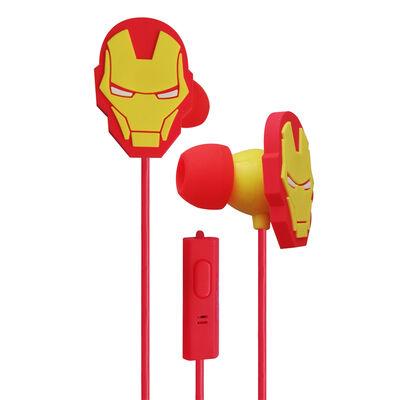 Audífonos In Ear Iron Man Marvel