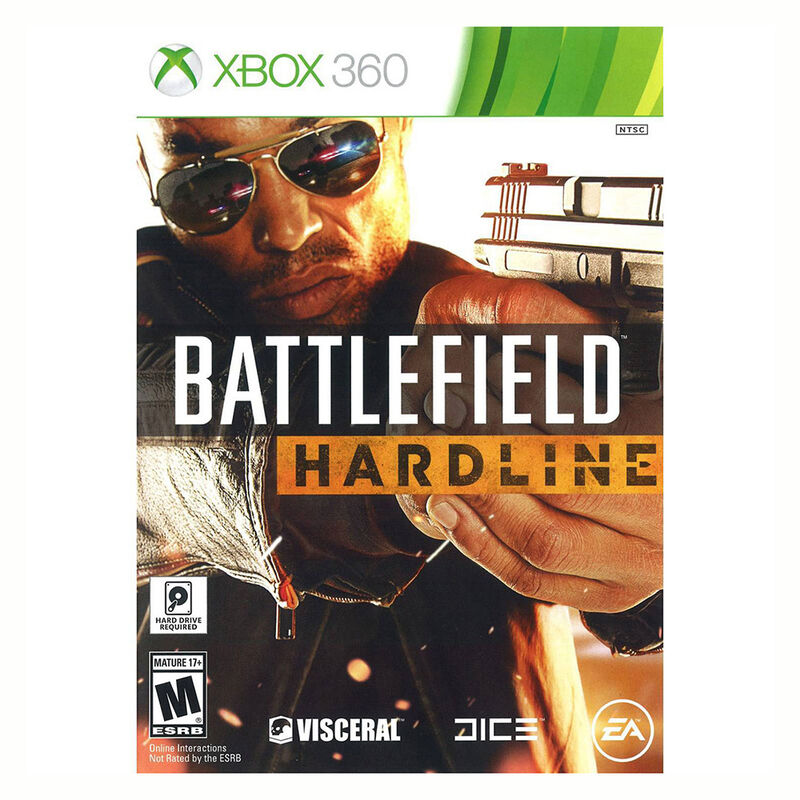 Juego Xbox 360 Battlefield Hardline