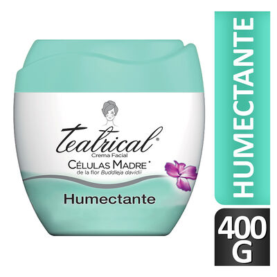 Teatrical Crema Facial Humectante 400 gr