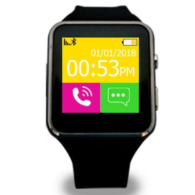 """Smart Watch Lhotse P9 1,4"""" Negro"""