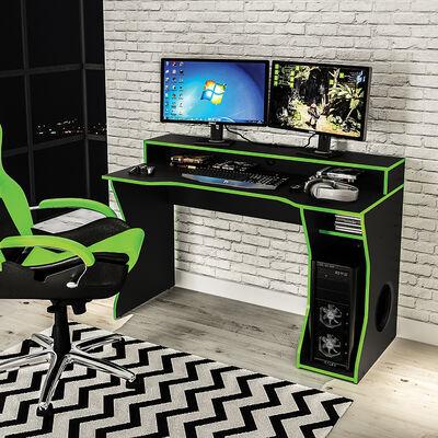 Escritorio Link Negro/Verde