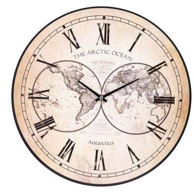 Reloj De Pared Mundo