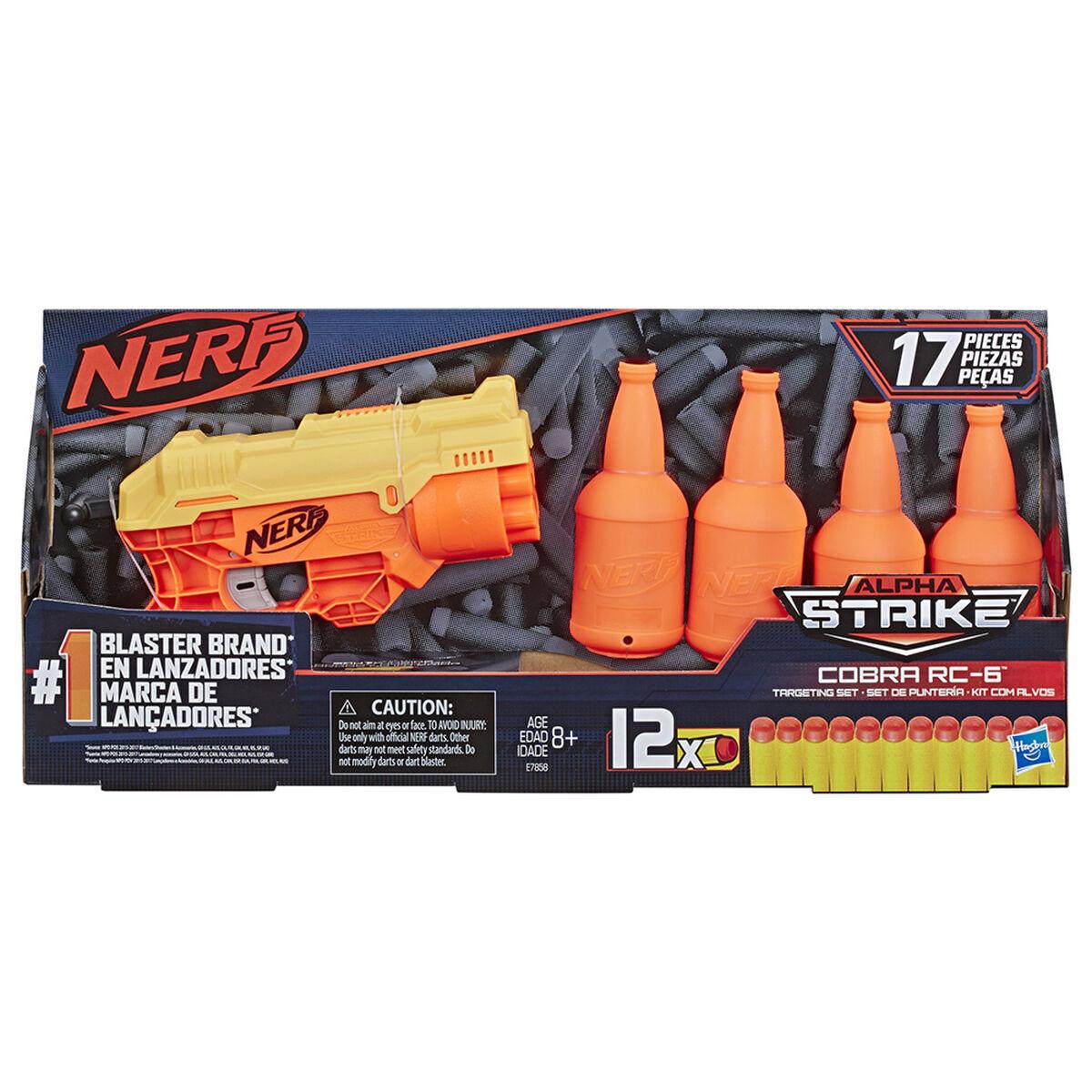 Nerf Alpha Strike - Set de Puntería Cobra RC-6 - 17 Piezas