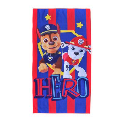 Toalla de Playa Suede Paw Patrol Niño Hero 70X140 Cm