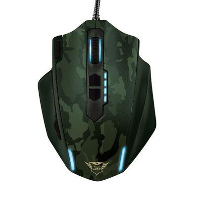 Mouse Gamer GXT155C Trust Verde Camuflaje