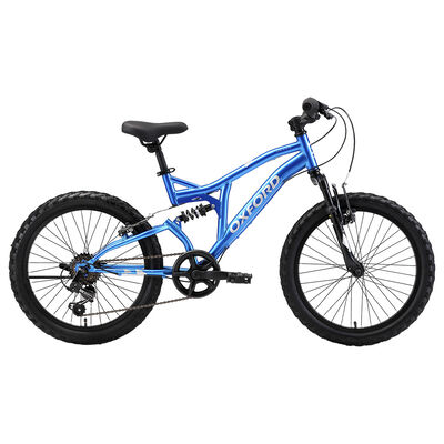 Bicicleta Oxford Drako Doble Susp Aro 20