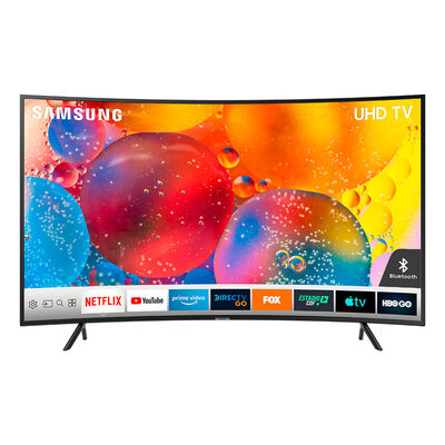"LED Curvo 55"" Samsung UN55RU7300GXZS Smart TV 4K Ultra HD"