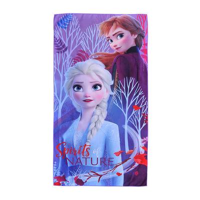 Toalla de Playa Suede Disney-Frozen Spirits 70X140 Cm