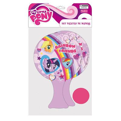 Set De Paletas De Madera My Little Pony Hasbro