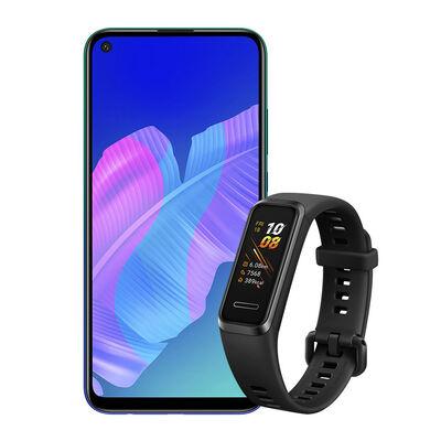 "Celular Huawei Y7p 64GB 6,3"" Aurora Blue Liberado + Band 4"