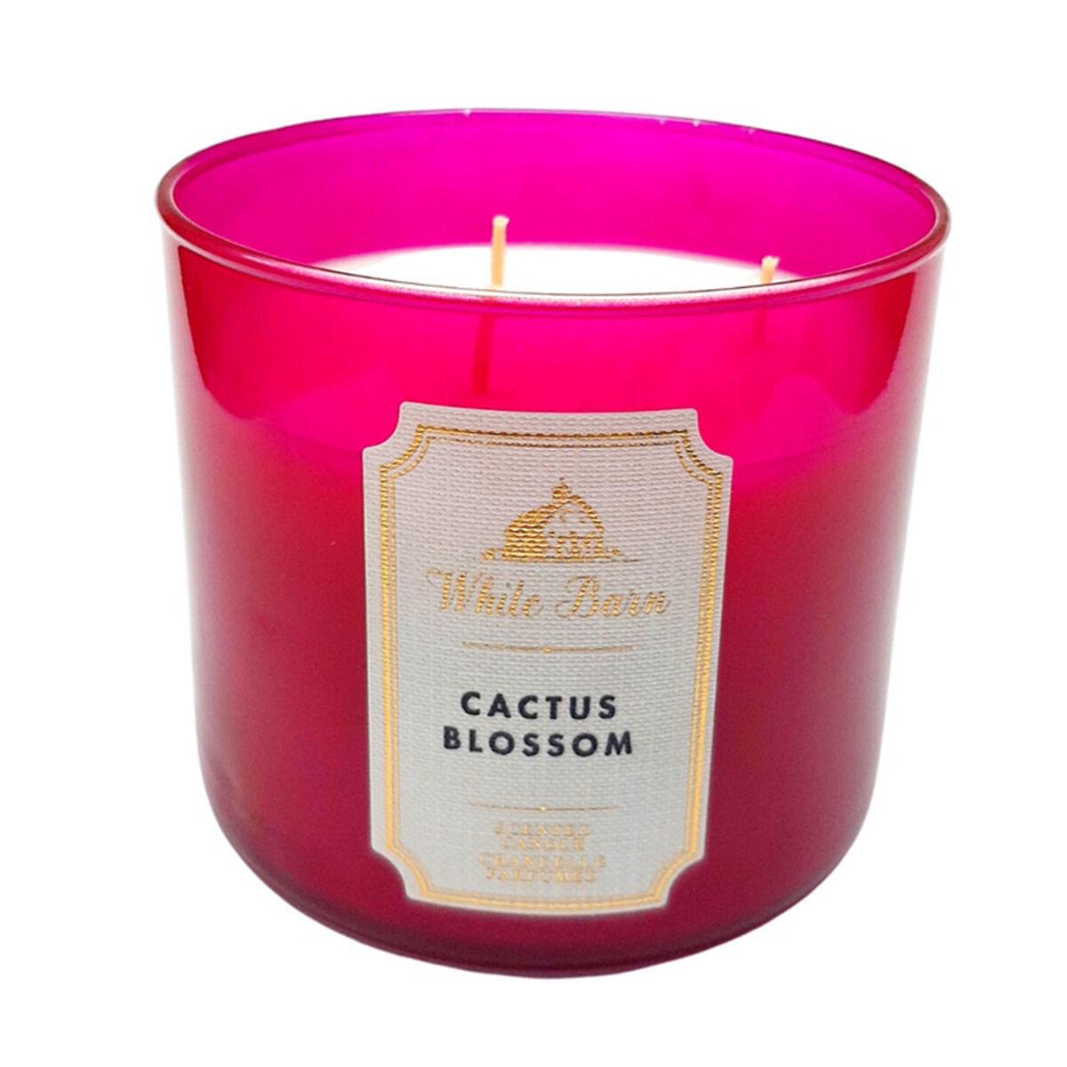 Vela Aromatica 3 Mechas Cactus Blossom