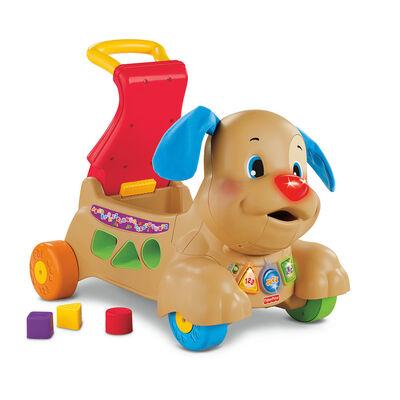 Fisher-Price Ríe y Aprende Juguete para Bebés Perrito Camina Conmigo Fisher-Price