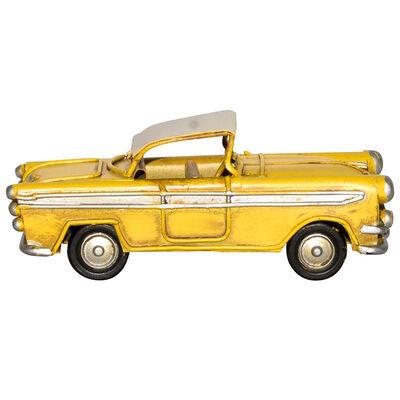 Adorno Auto Mini Amarillo
