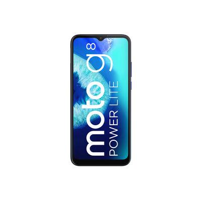 """Celular Motorola G8 Power Lite 64GB 6,5"""" Mora Azul Liberado"""