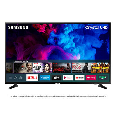 "LED 43"" Samsung UN43TU7090 Crystal Smart TV UHD 4K"
