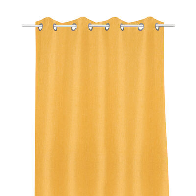 Cortina Blackout Mate Argolla (1Pc) 140X220 Cm Yellow
