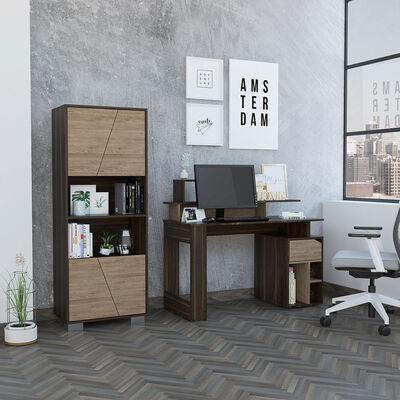 Escritorio Office 9  + Biblioteca Fraktal