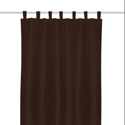 Cortina Blackout Mate Presilla 1 Pieza Chocolate 140X220 Cm