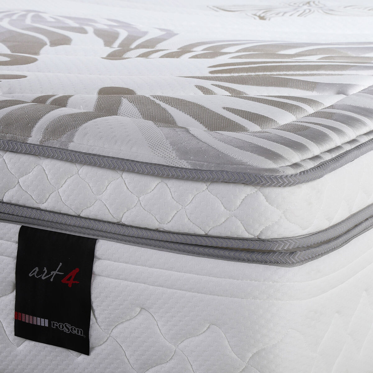 Cama Europea Super King Art 4 +Almohadas