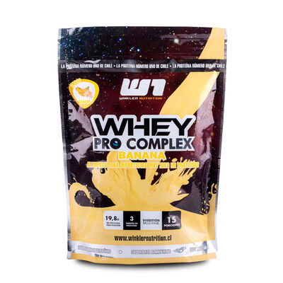 Proteína Whey Procomplex Banana 500 Grs. 15 Servicios