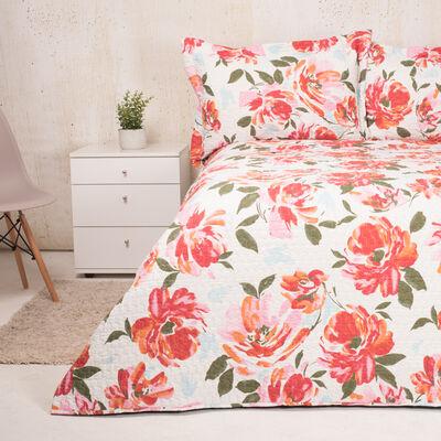 Cubrecama Estampado Blossom King