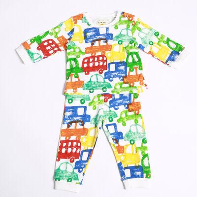 Pijama Algodón Bebo Chess Baby