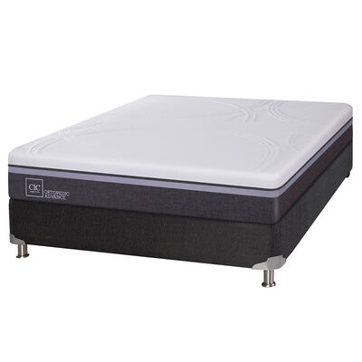 Box Spring CIC 2 Plazas Ortopedic Advance