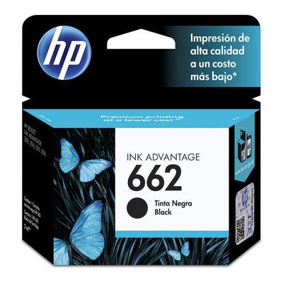 Tinta Negra HP Nº 662