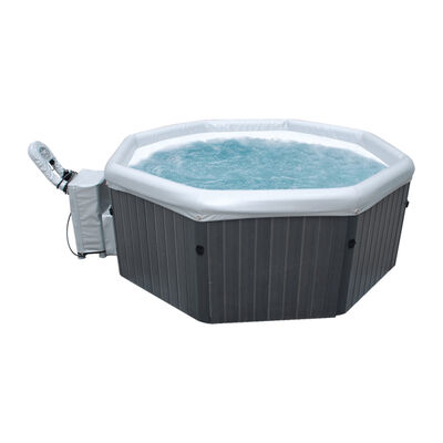 Hot Tub Inflable Mspa Tuscany 4 Premium Gris