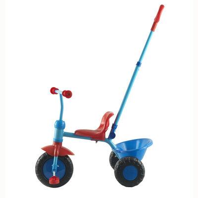 Triciclo Infantil GamePower Con Agarre Para Adulto Azul