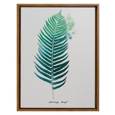 Cuadro De Tela Vinilica Enmarcado Serie Plantas