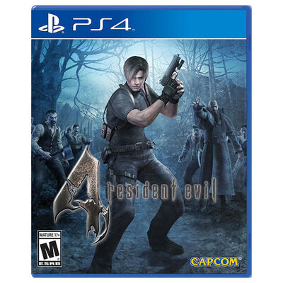Juego PS4 Resident Evil 4 HD
